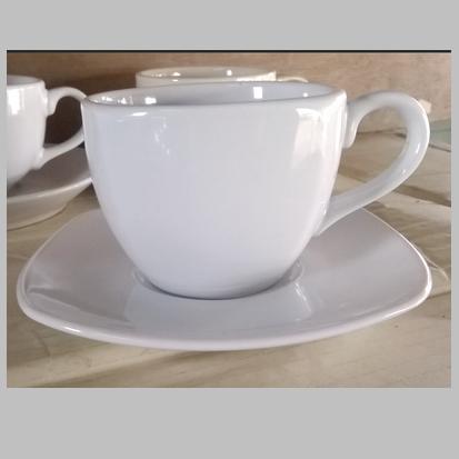 แก้วกาแฟ 200 cc. ทรงเหลี่ยมขาว