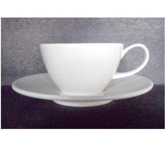 White Cup 200 cc. new fine china