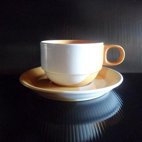 ชุดกาแฟ 200 cc. ทูโทนเหลือง