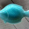 จานเปลรูปปลา