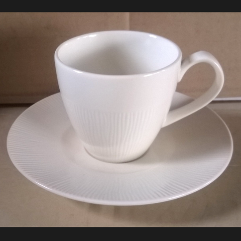 Coffee Cup 200cc. White-ironstone
