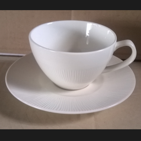Coffee Cup 250cc. White-ironstone