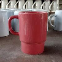 แก้วมัคสีแดง 400 cc.