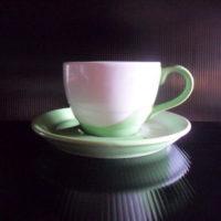 ชุดกาแฟ 200 cc.เขียว