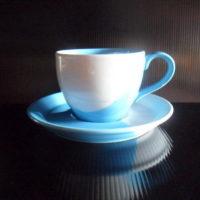 ชุดกาแฟ 200 cc.ฟ้า