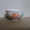 ถ้วยกลมลายดอกส้ม
