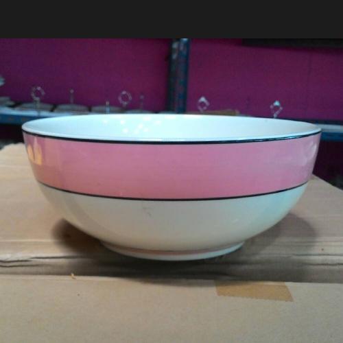 ถ้วยกลมชามก๋วยเดี๋ยว 8 นิ้ว Salad Bowl-Noodle Bowl