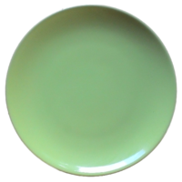 จานใบบัว 10.5 นิ้ว สีเขียว