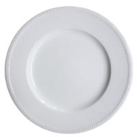 จานขาว Dinner Plate 27 cm.
