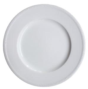 จานขาว 10.5 นิ้ว