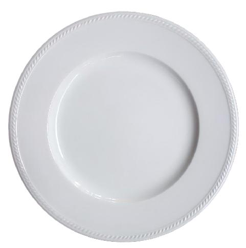 จานขาว Dinner Plate 27 Cm เซรามิคจานชาม แก้วกาแฟ ขายส่ง