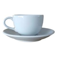 ชุดกาแฟจานรอง 200 cc. สีขาว
