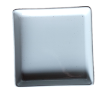 จานสี่เหลี่ยม 6×6 นิ้ว สีขาว