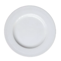 6-inch Flat Plate (White)