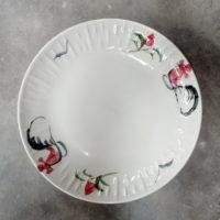 จานทูโทน 7.5″ ลายไก่