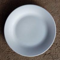 จานตื้นขาว 10.5 นิ้ว