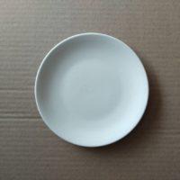 จานแบนขาว 5.8 นิ้ว