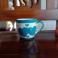 แก้วกาแฟลายหัวใจ 4.5 ออนซ์