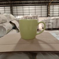 แก้วมักสีเขียว 10 ออนซ์